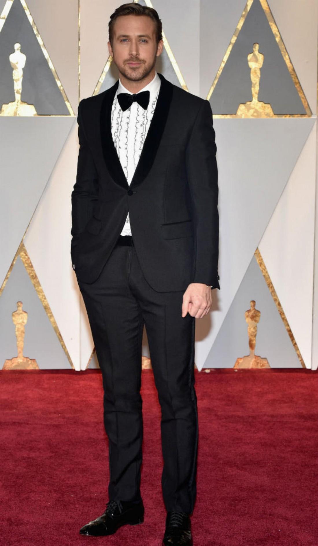 Райан Гослинг. Один из самых стильных мужчин церемонии Оскар 2017