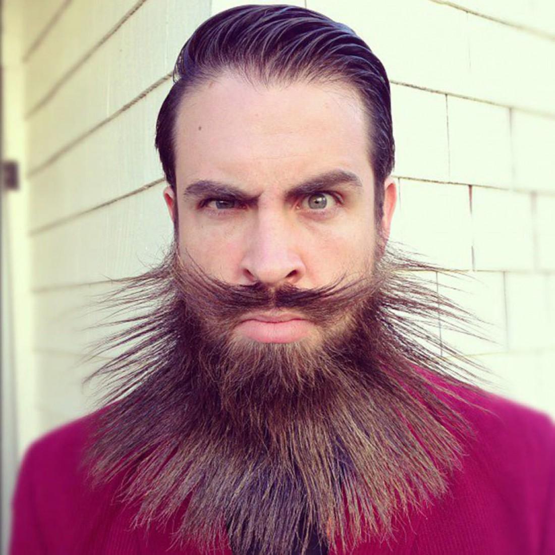 Как сделать бороду рыжей