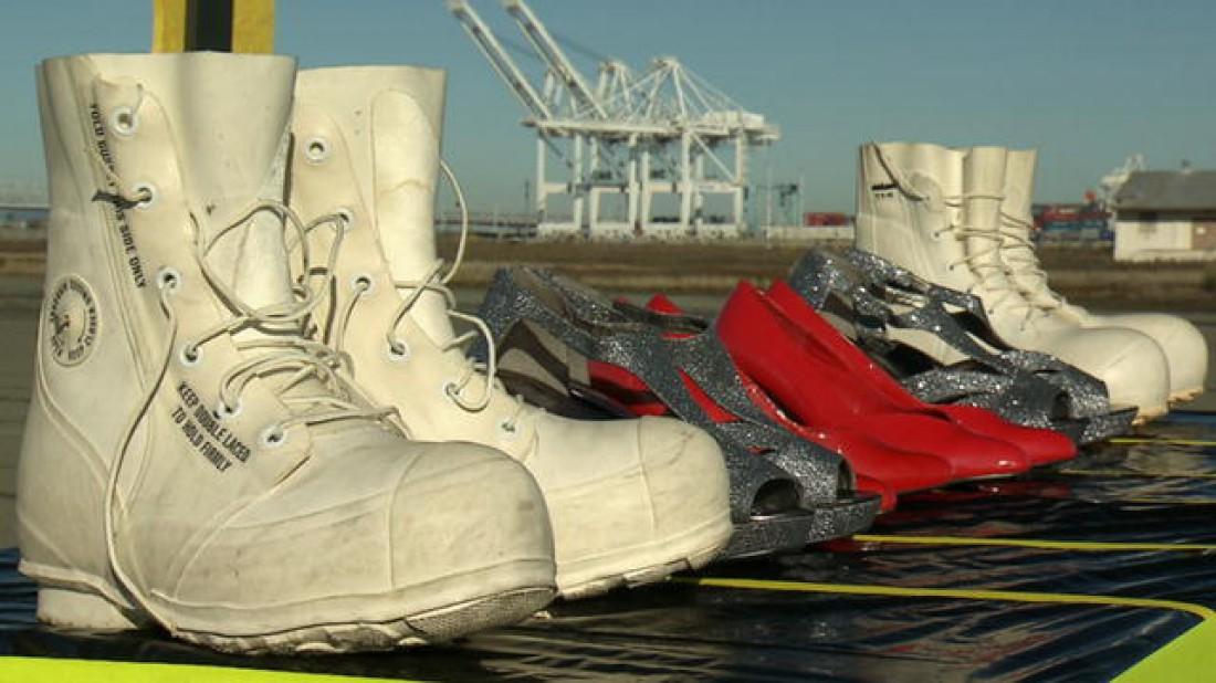 Обувь, в которой гоняли Разрушители