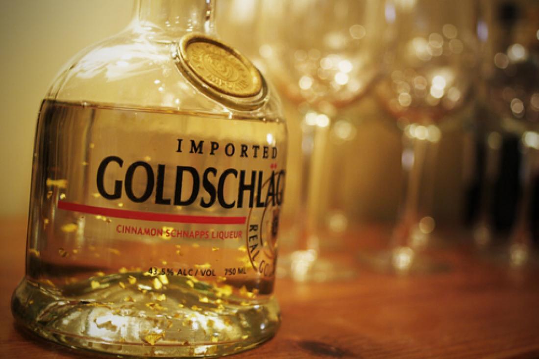 Goldschlager - швейцарский шнапс с золотом