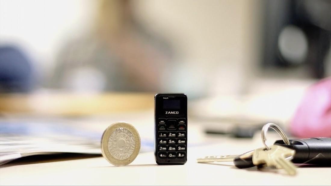 Zanco Tiny T1. Самый маленький мобильник в мире