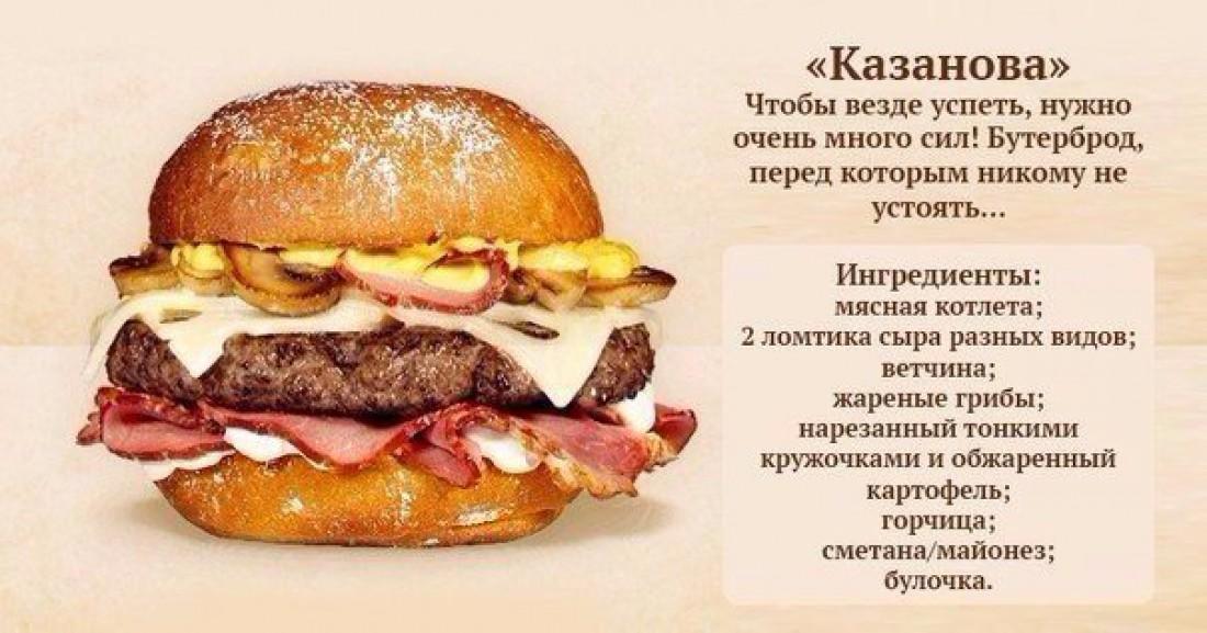Бургер своими руками рецепт с фото