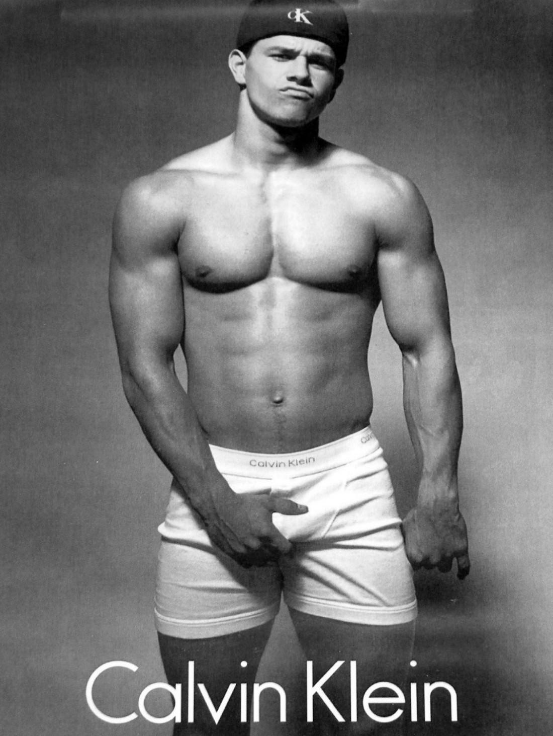 Марк Уолберг в 1992-м. Та самая реклама для Calvin Klein