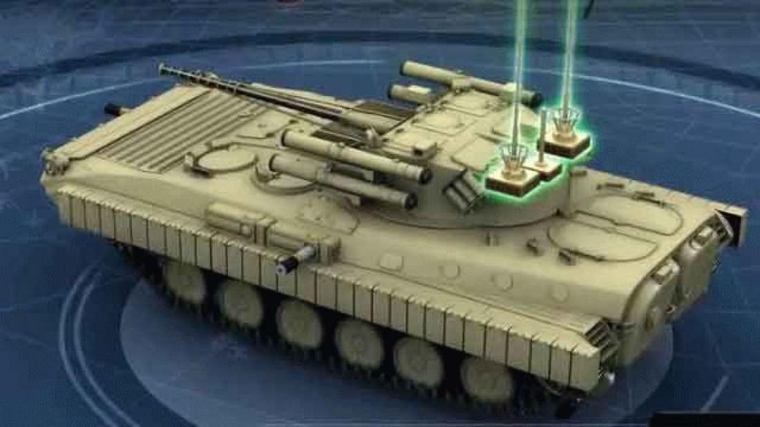 Перспективная украинская БМП утрет нос старым советским БМП-1