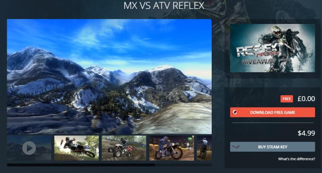 MX vs ATV Reflex можно скачать абсолютно бесплатно