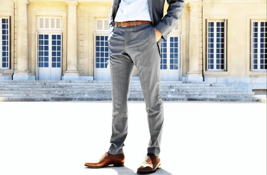 Ремень — неотъемлемый атрибут делового мужчины