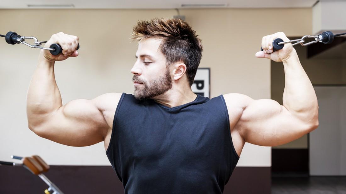 Для набора мышечной массы сконцентрируйся на численности повторений
