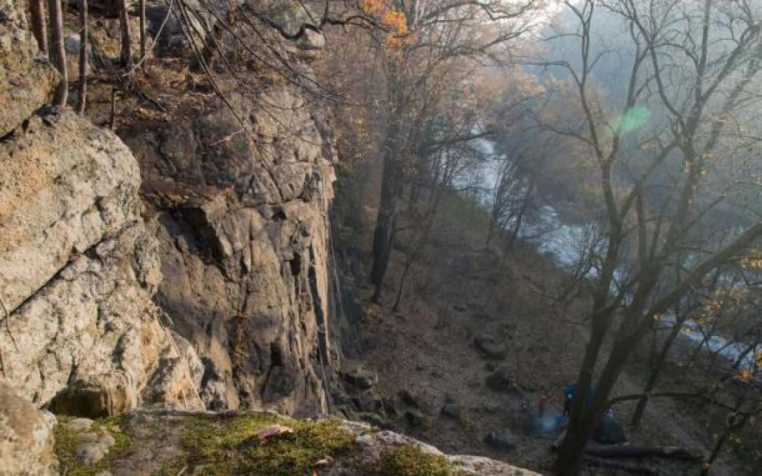 Скалы над Тетеревом в Денишах