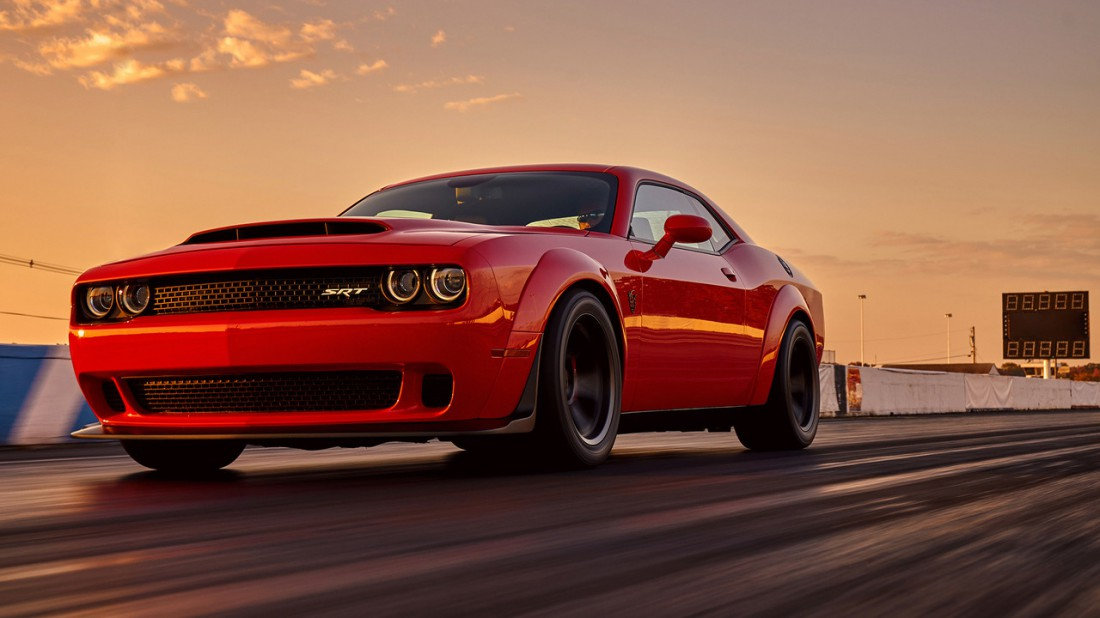 Dodge Challenger SRT Demon — самый могучий Dodge Challenger на свете