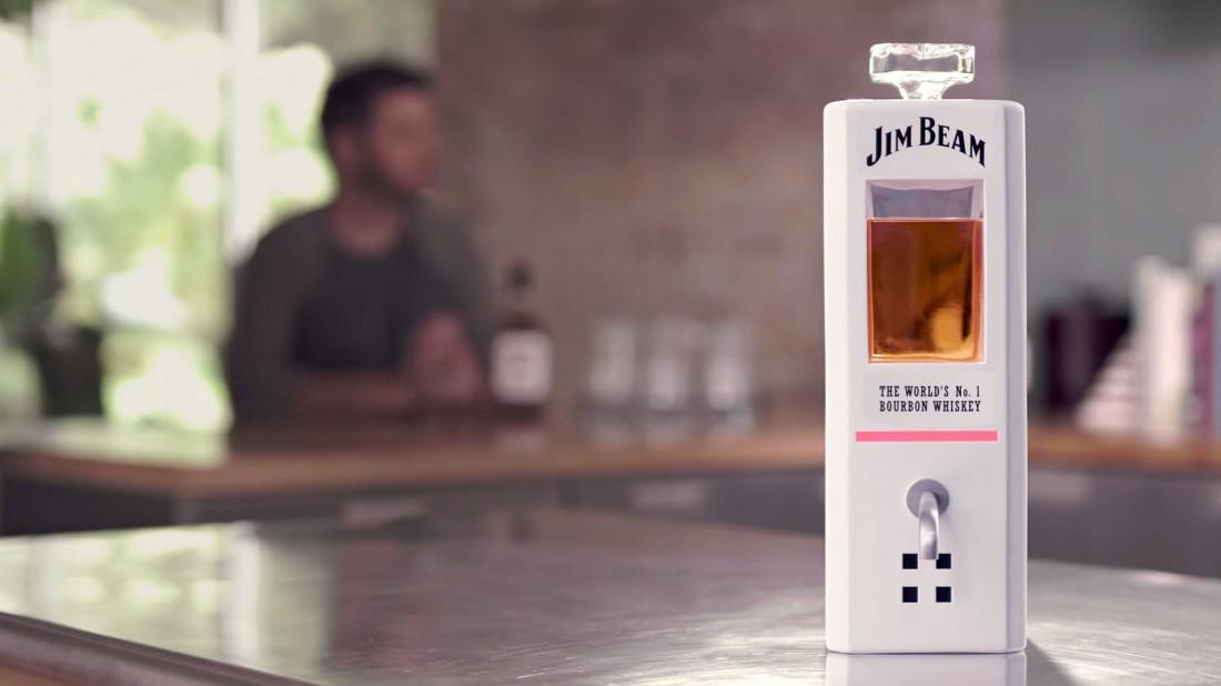 JIM — умная бутылка от Jim Beam