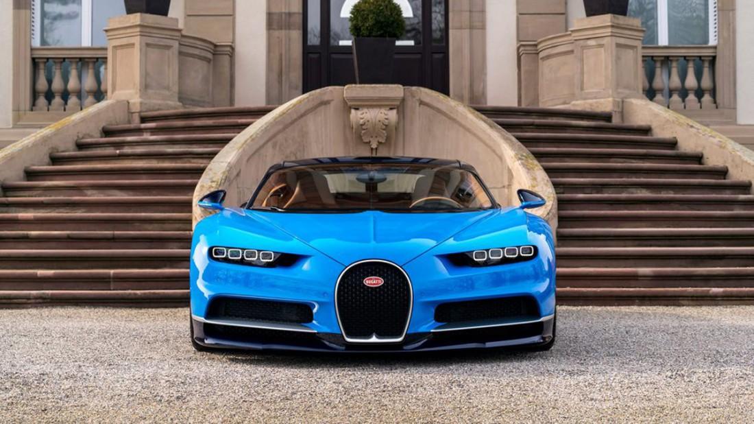 Bugatti Chiron б/у. Цена — €3,485 млн