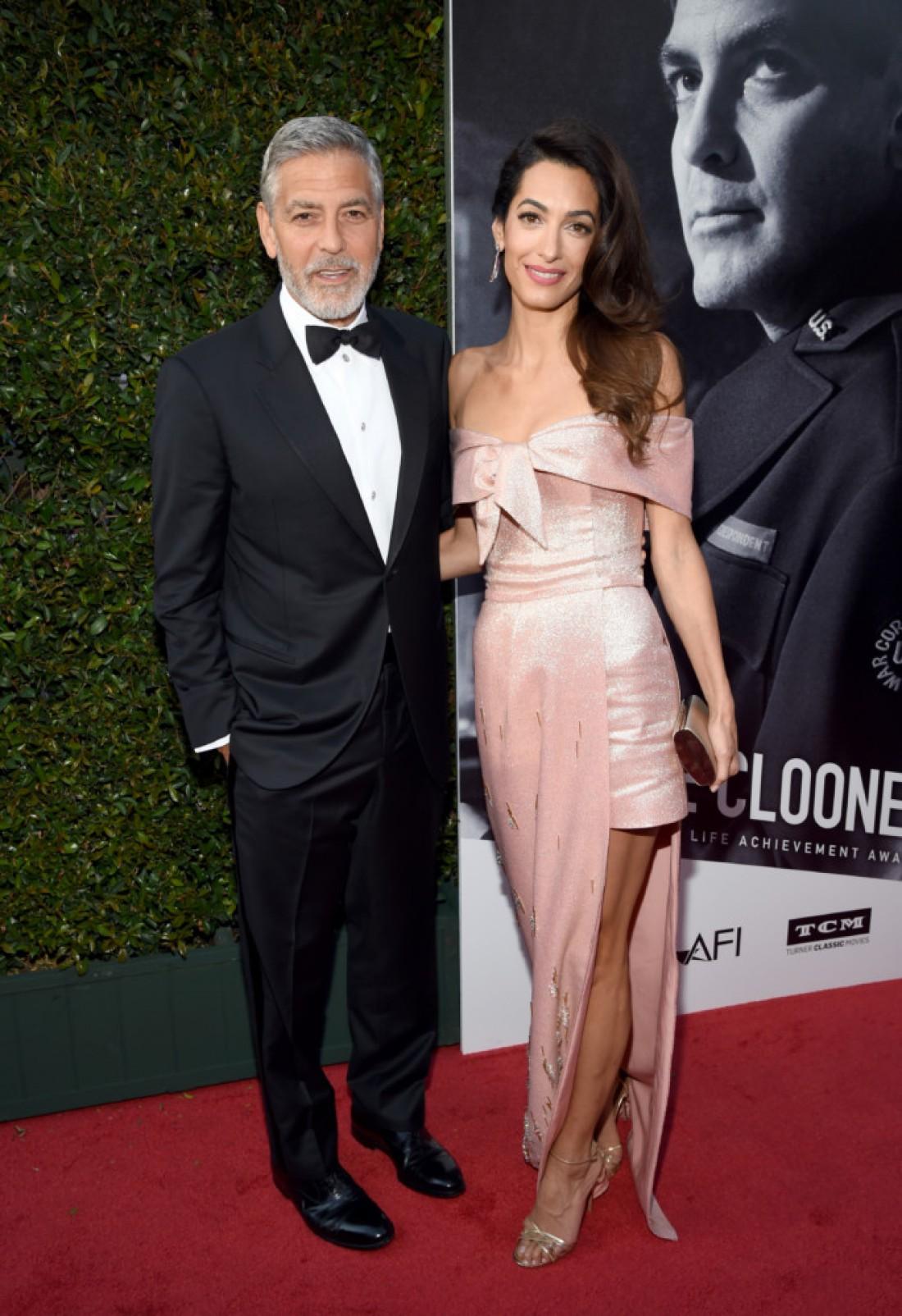 Джордж и Амаль Клуни — одни из самых стильных селебрити прошлой недели