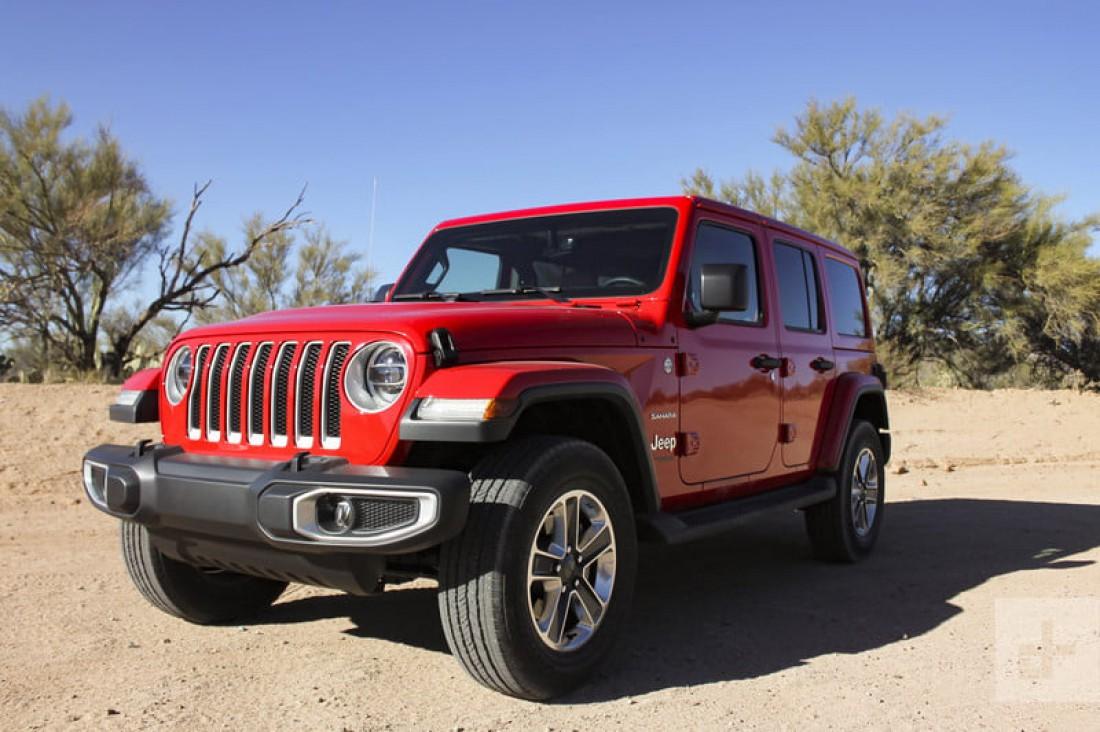 Jeep Wrangler. Модель, представленная в 2018. На конвейер поставят в 2020
