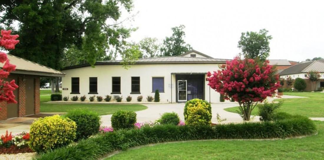 Тюрьма в Монтгомери славится своими красивыми садами