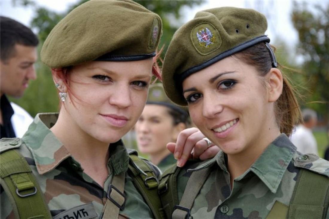 Женщины всегда были неотъемлемой частью сербской армии