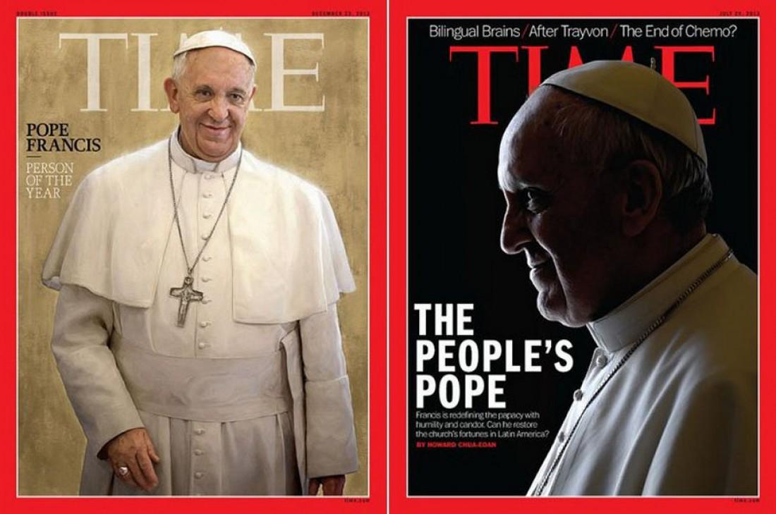 Редакторы The Time поиздевались и над папой Франциском