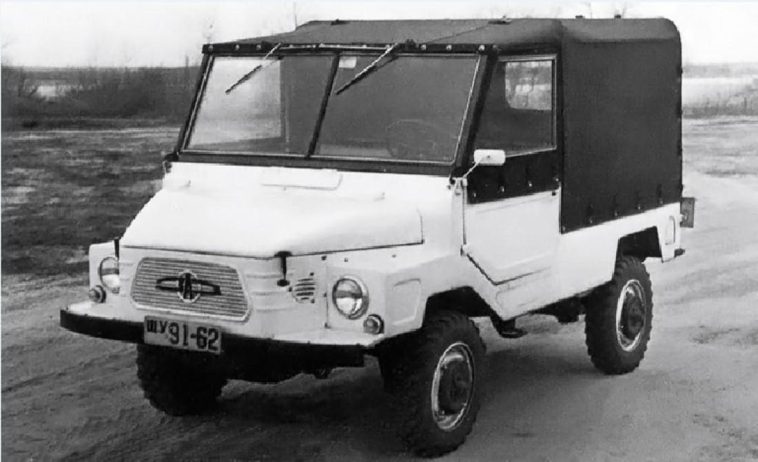 ЗАЗ-969, позже переданный Луцкому заводу и превратившийся в ЛуАЗ-969