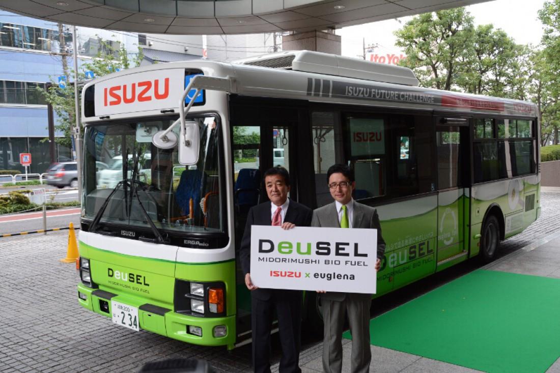 DeuSEL от Isuzu. Автобус, работающий на топливе из зеленых водорослей