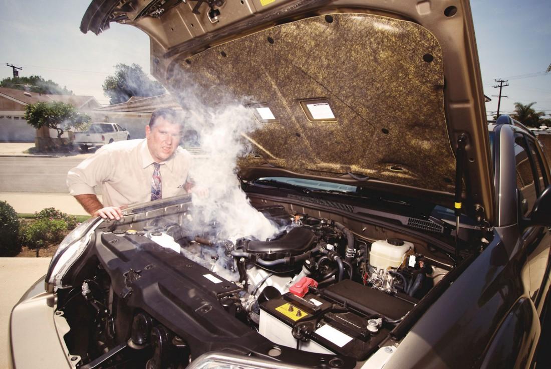 Перегрев двигателя — одна из частых проблем при езде в жару