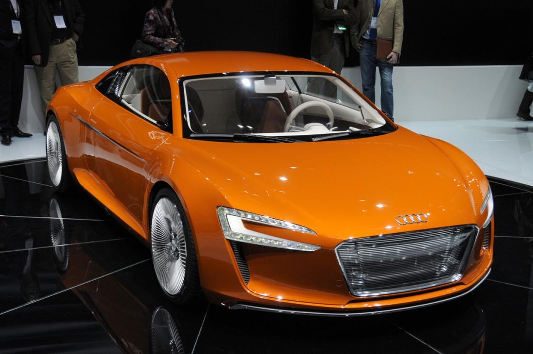 Новый электромобиль Audi R8 E-Tron с ультрасовременным дизайном. И плевать, как он называется