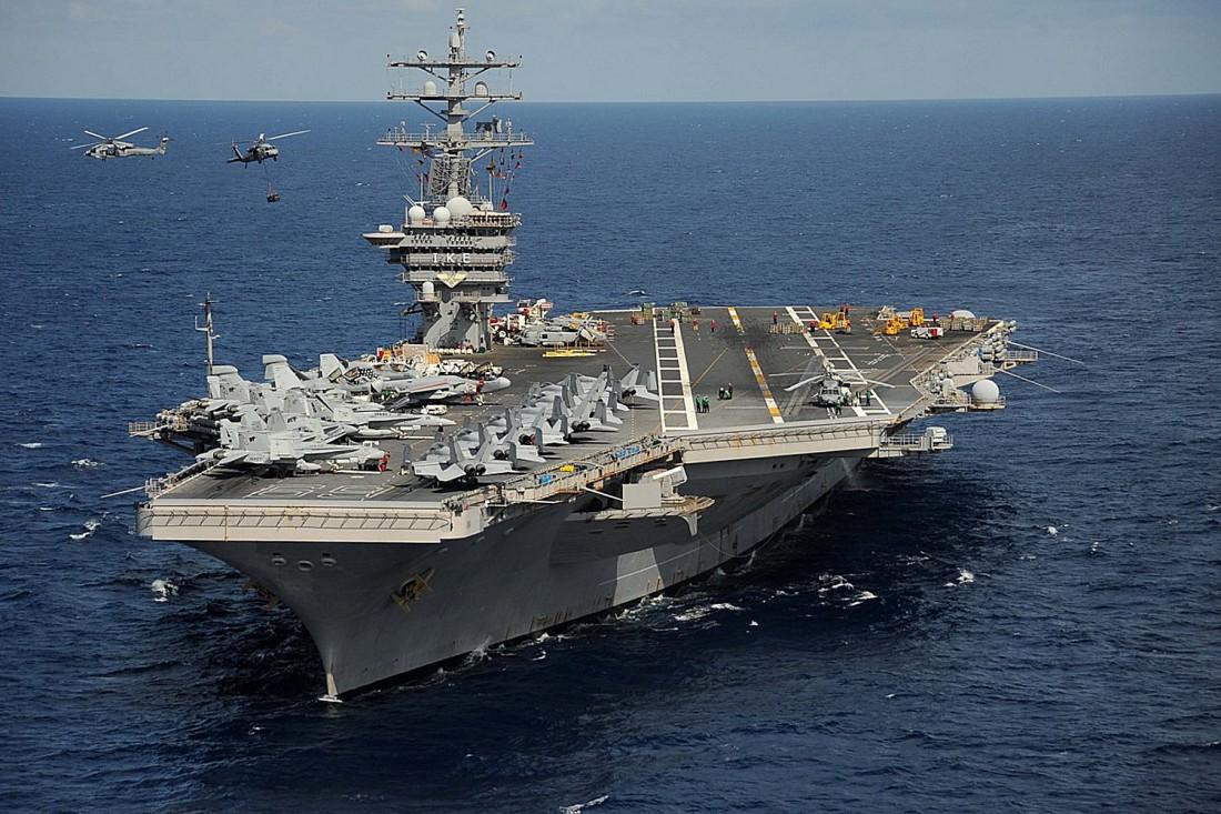 USS Nimitz — дорогой американский авианосец с дорогим обслуживанием