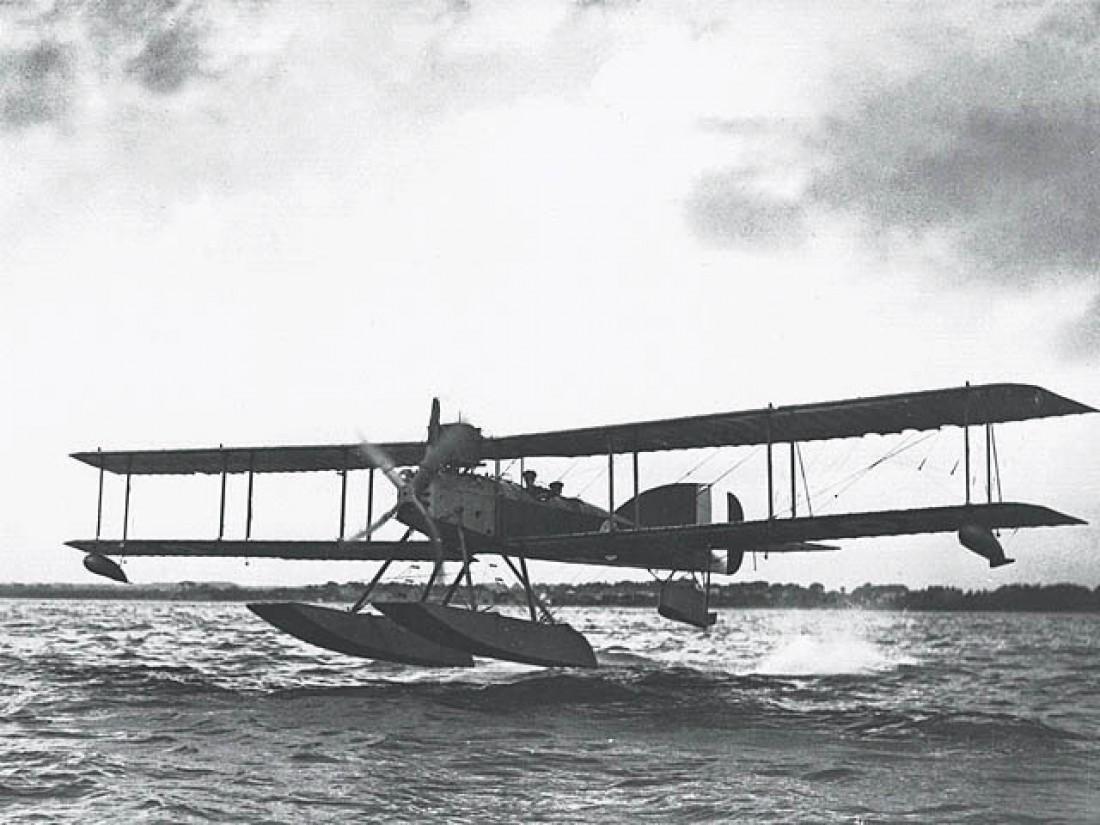Британский торпедоносец Short Type 184