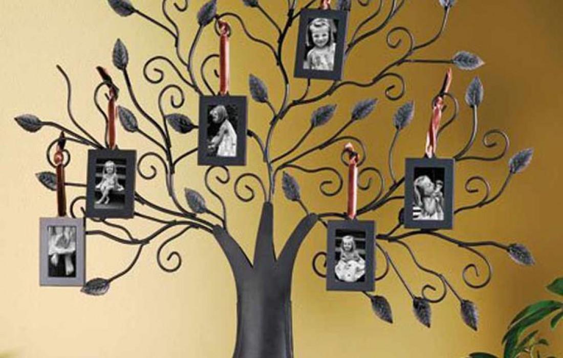 Фотоальбом в виде дерева — $40
