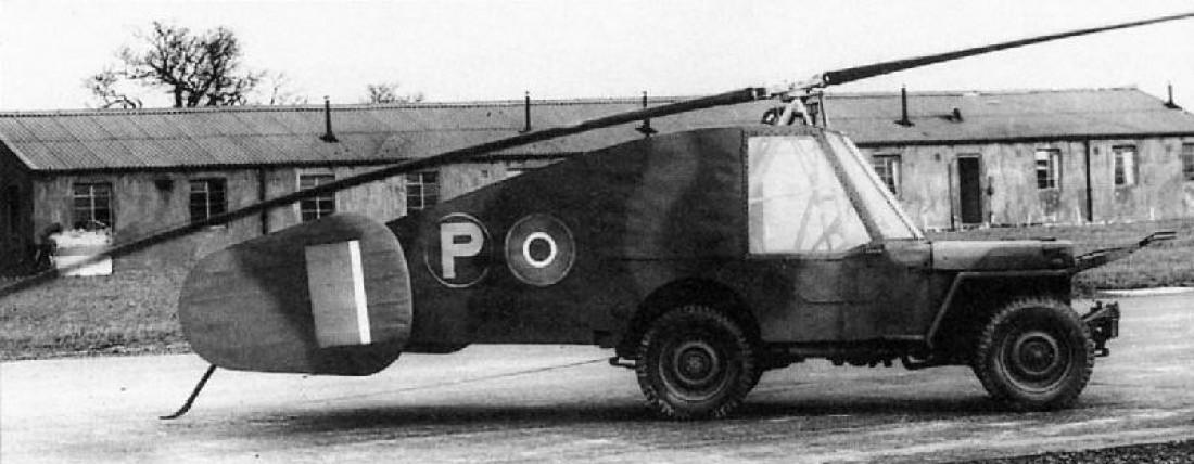Последний полет Rotabuggy длился 10 минут со скоростью 105 км/ч на высоте 121 метр. Дело было в 1944-м