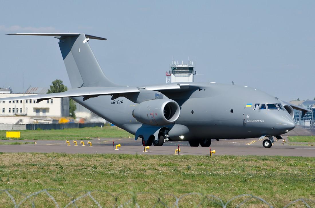 Ан-178 — новейший украинский военно-транспортный самолет