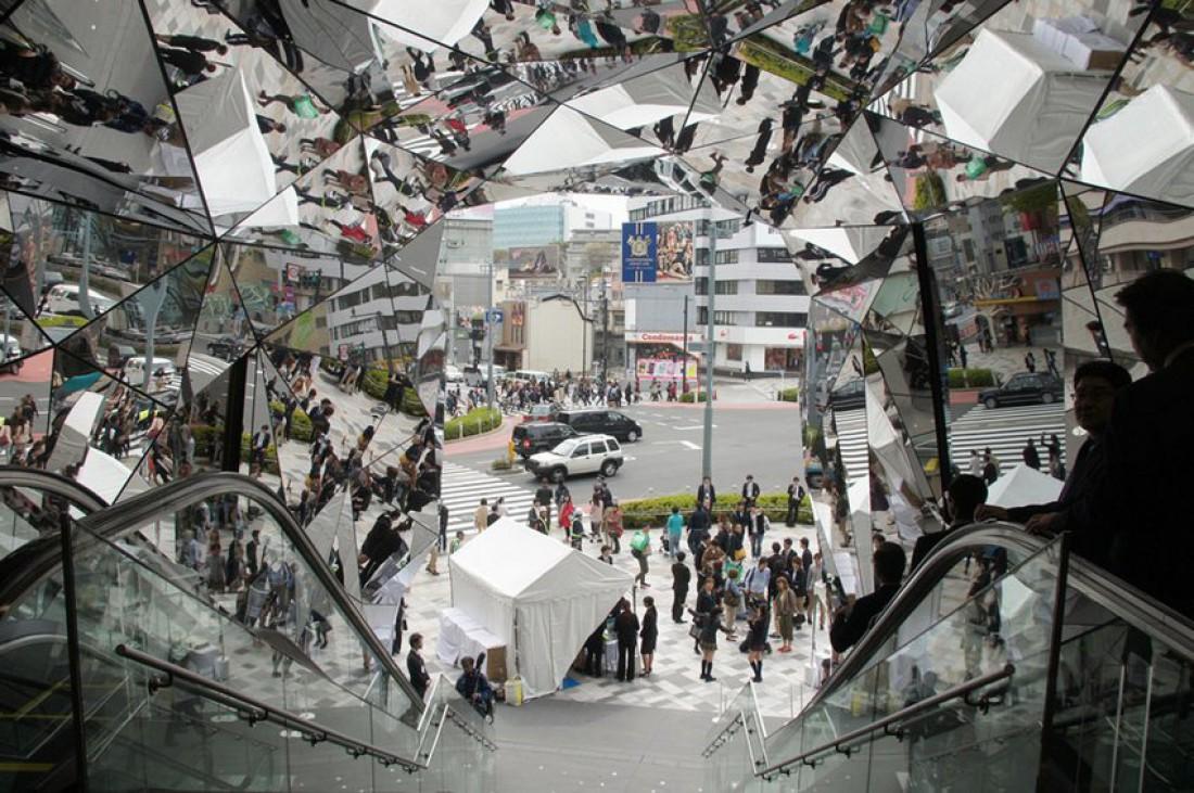 Вход в торговый центр Tokyo Plaza