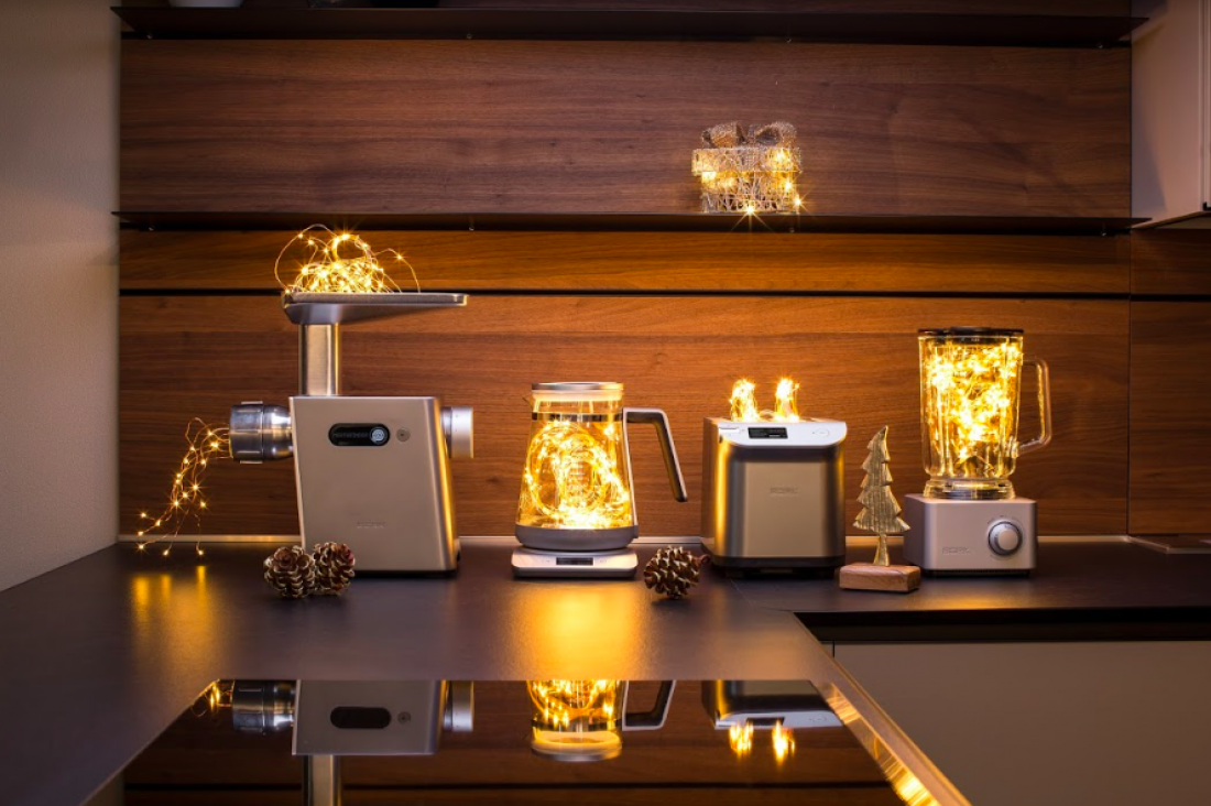 Коллекция кухонных приборов Platinum от BORK — стильно и технологично