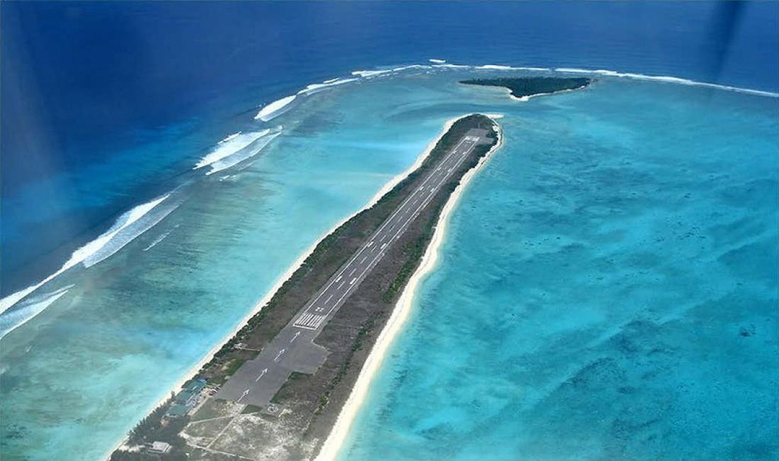 Аэропорт Агатти длиной всего 1219 метров