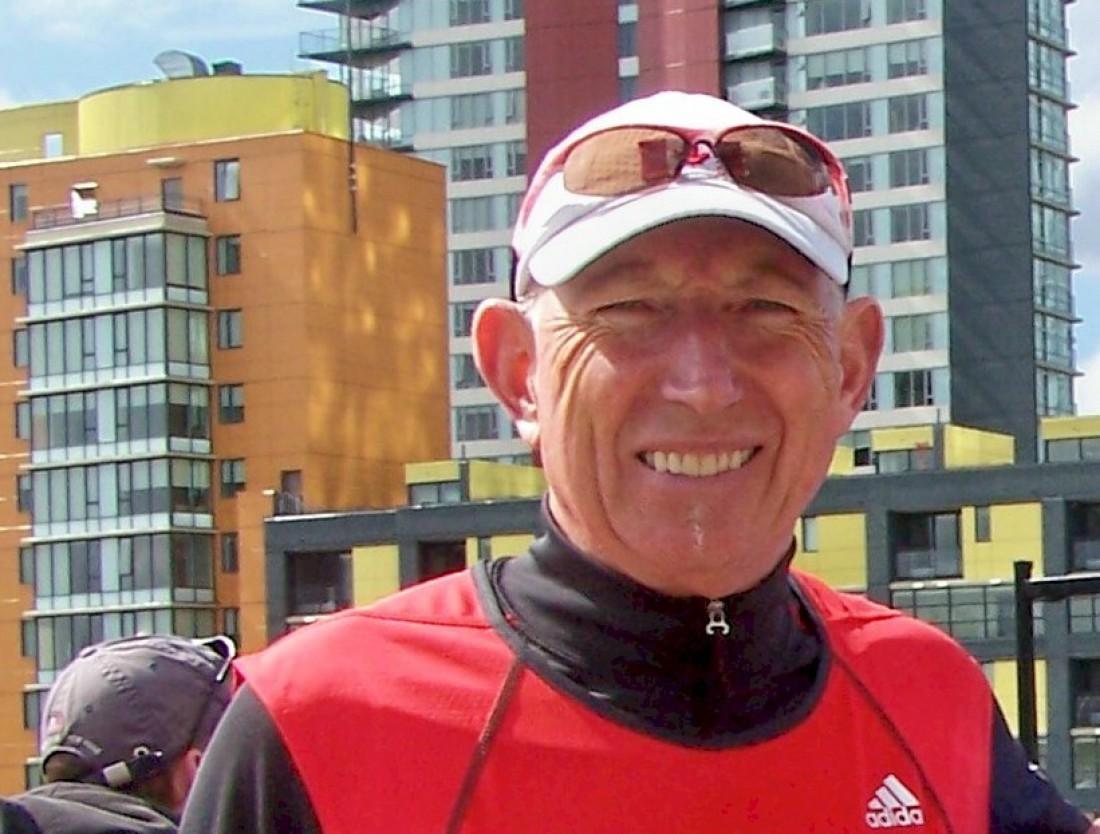 Мартин Парнелл пробегал марафоны даже при температуре в –30 по Цельсию