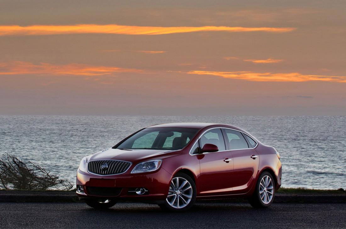 Buick Verano — слишком экономная машина. Американцы на таком не ездят
