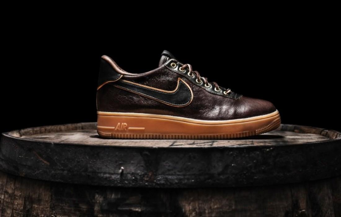 Эксклюзивные Nike Air Force 1 пахнут медовым Jack Daniel's