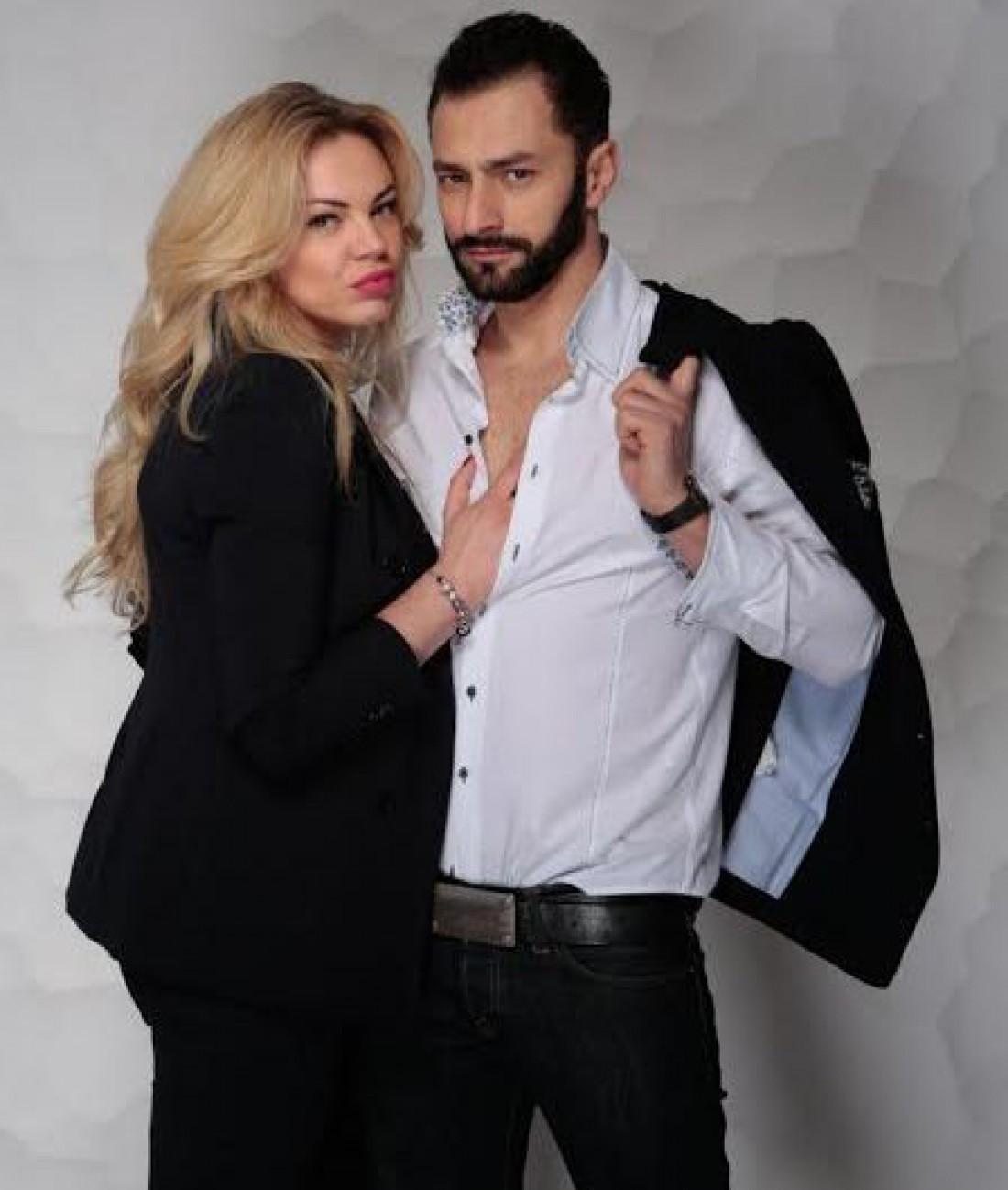 Певец Андрей Кише и его жена Оксана