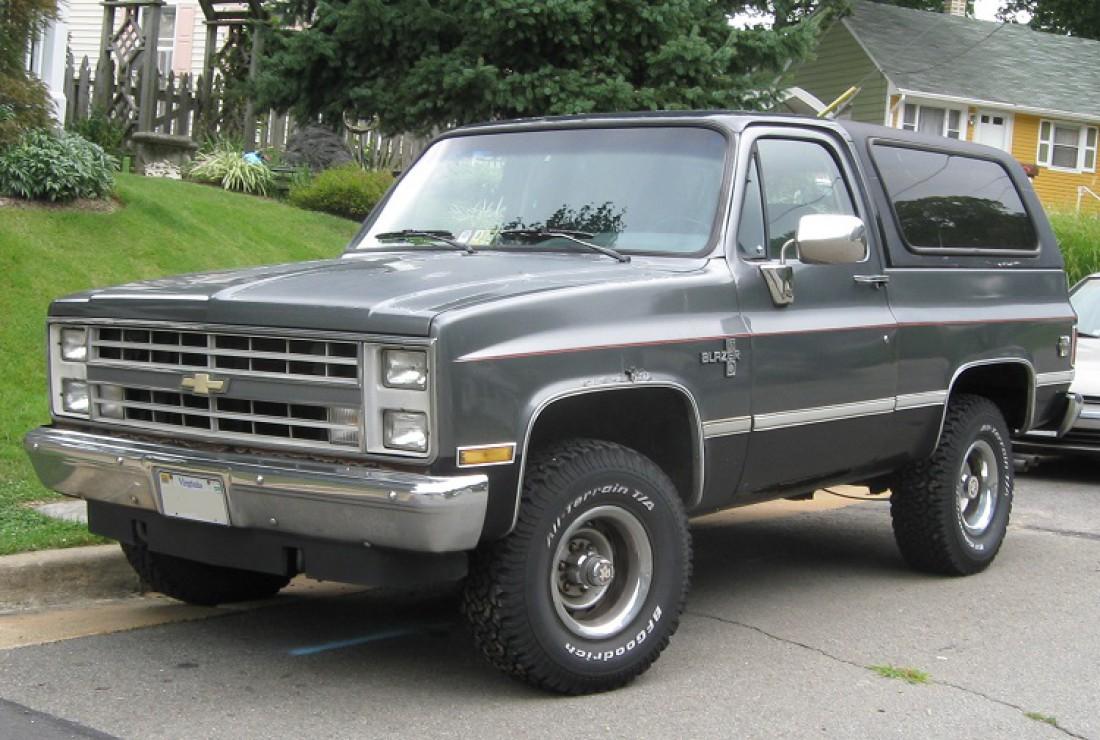 Первый Chevrolet S-10 Blazer был представлен в 1982-м