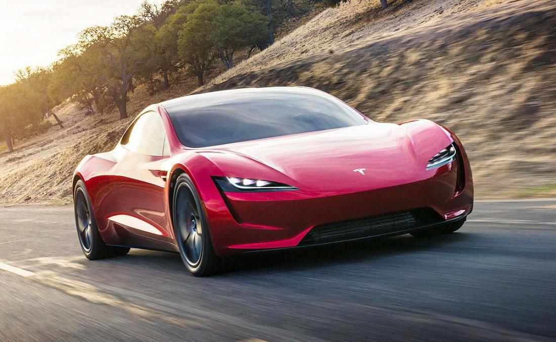 Tesla Roadster — самый динамичный серийный электрокар в мире