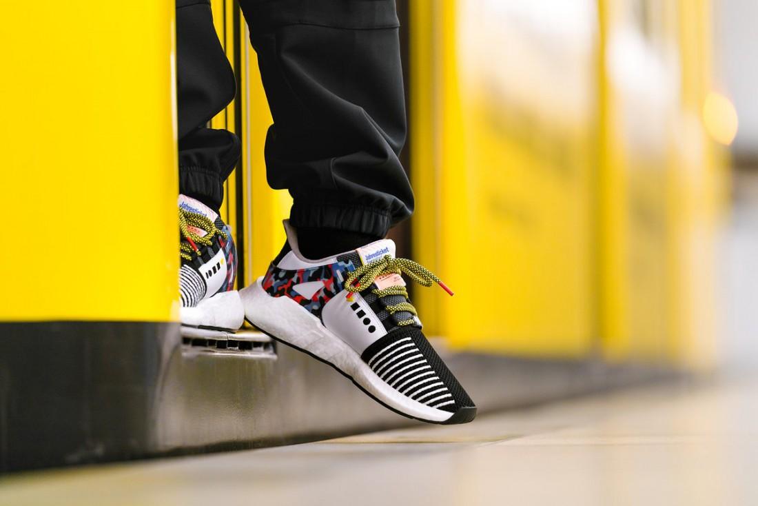 Эксклюзивные adidas, рожденные в сотрудничестве с BVG