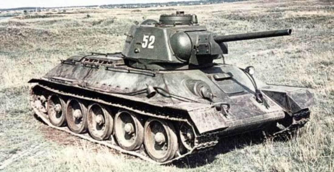 Т-34-76 — эпический танк конца 30-х / начала 40-х годов XX века