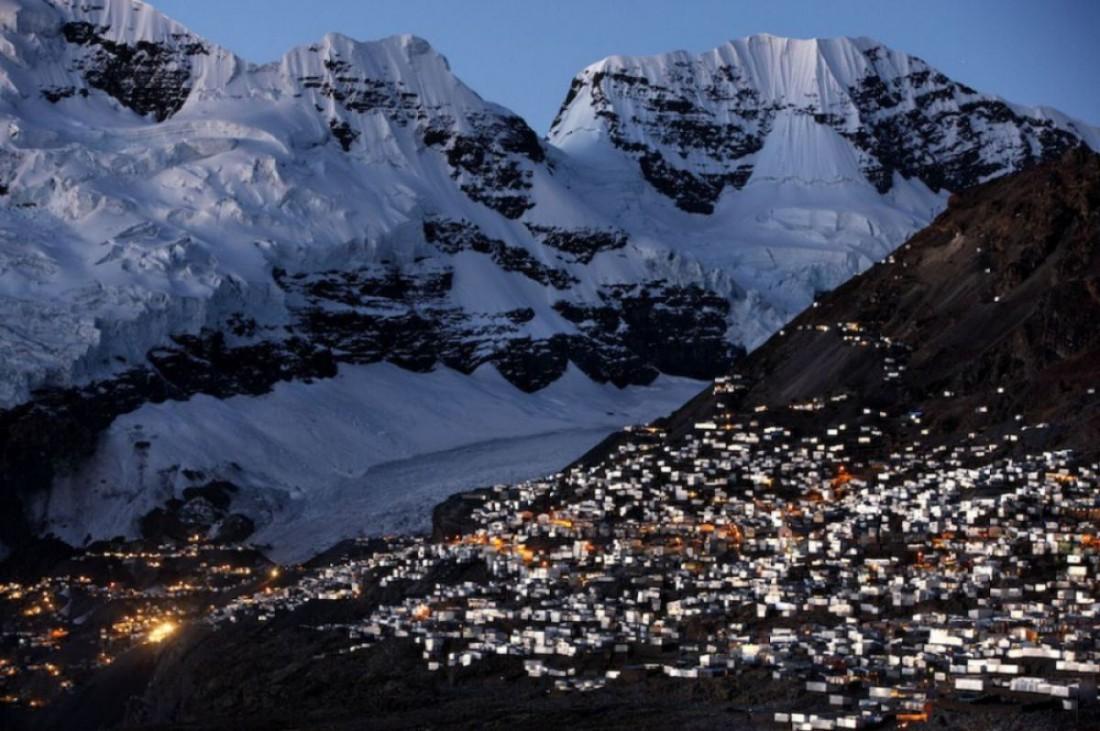 Ла-Ринконада — место добычи золотой руды (Перу)