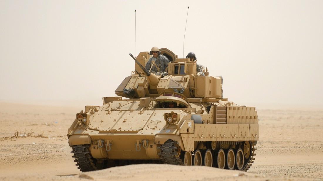 БМП M2 Bradley. Страна-производитель — США