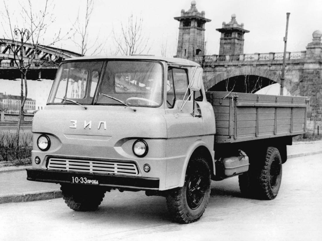ЗИЛ Э169А (1964). Прототип грузовика без капота