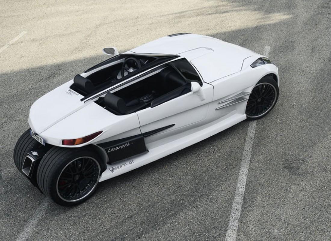 На борту Lazareth Wazuma GT сидит 4,0-литровый движок Jaguar