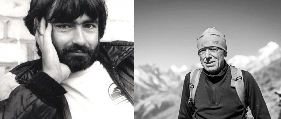 Украинские альпинисты Михаил Туркевич (слева) и Сергей Бершов (справа)