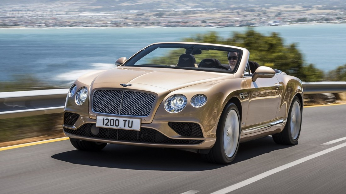№6. Bentley Continental GT Speed Convertible 2016 — $263,4 тысячи