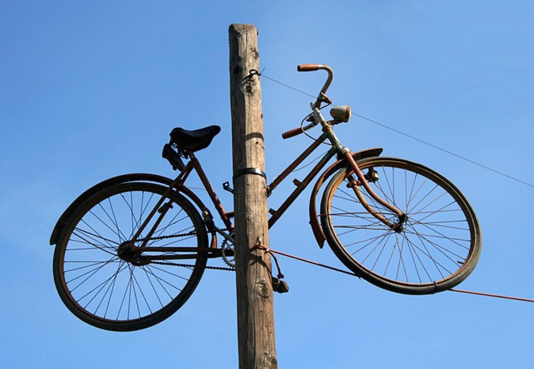Велосипед, слезай! Мотоциклы уже ушли