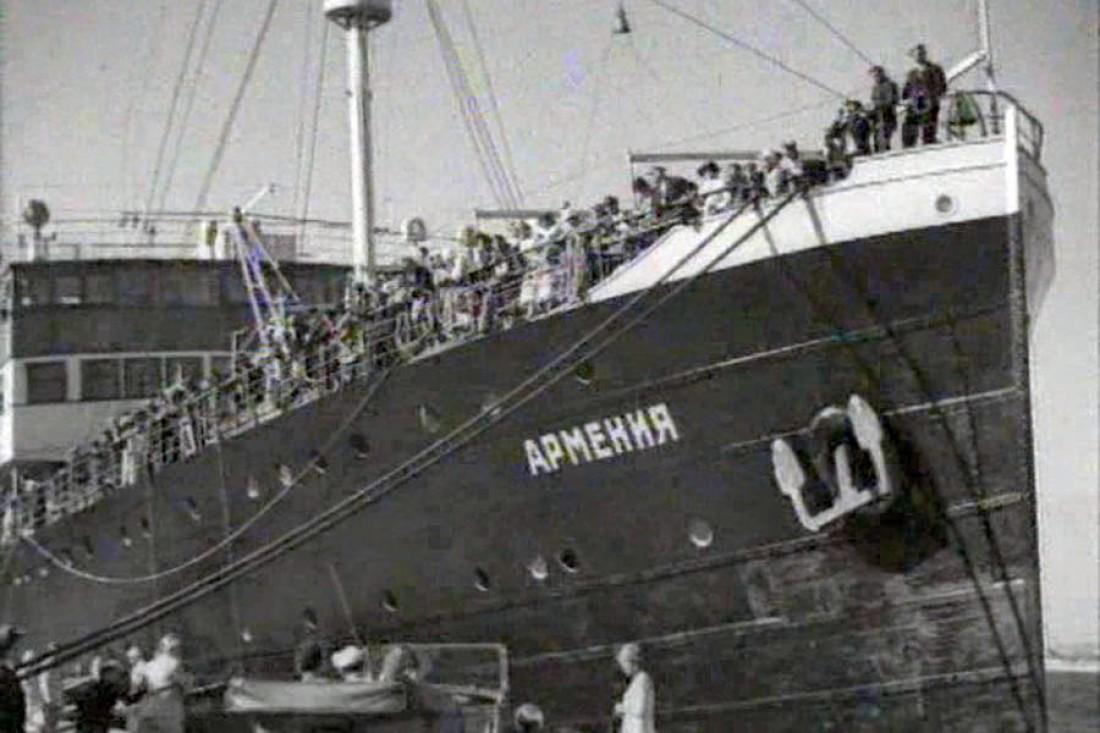 Армения покоится где-то у побережья Крыма