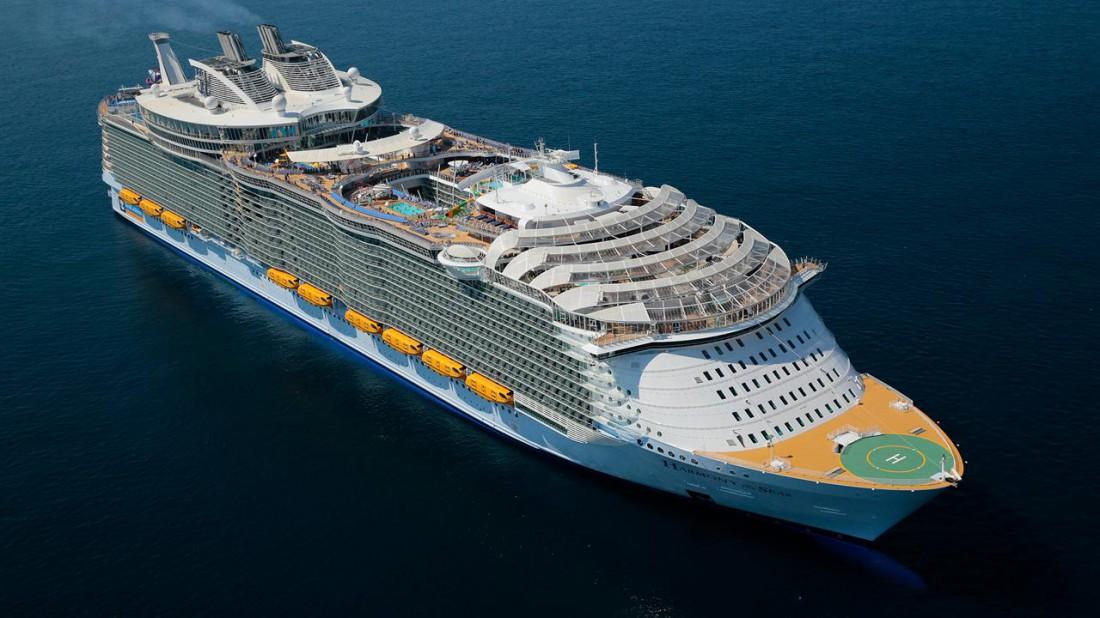 Symphony of the Seas — новый самый большой круизный лайнер в мире