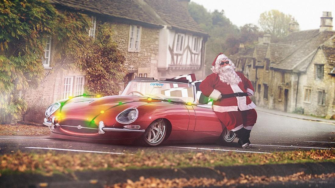 Jaguar E-Type — для езды по английским городкам
